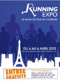 Running Expo. Du 4 au 6 avril 2013 à Paris15. Paris.
