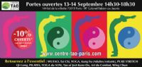 Portes Ouvertes du CENTRE TAO PARIS. Du 13 au 14 septembre 2014 à PARIS. Paris.  14H30